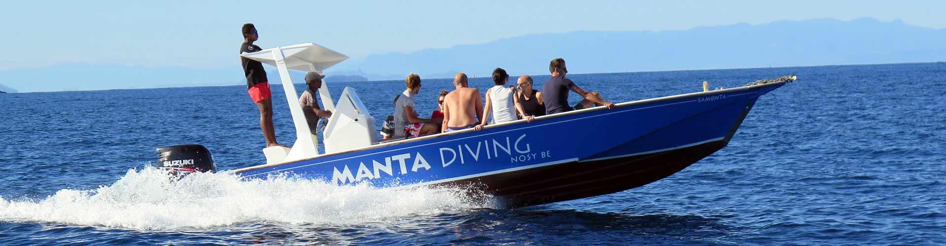 Manta Diving - Escursioni