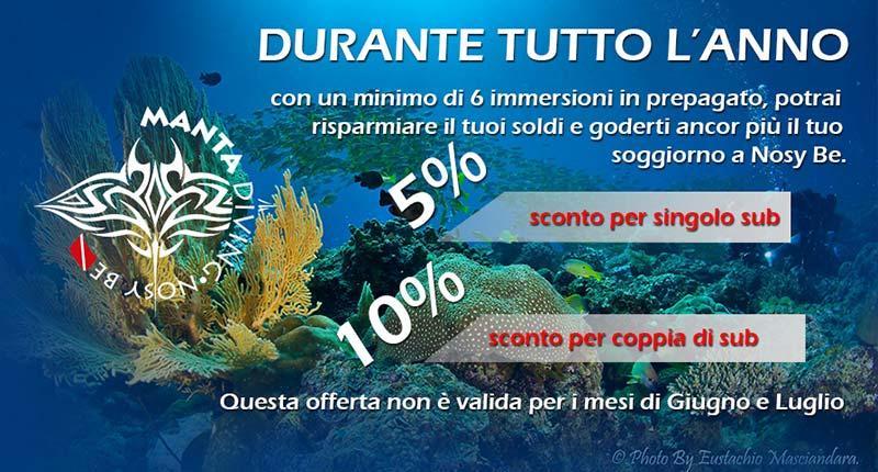 Manta Diving - Pre-booking