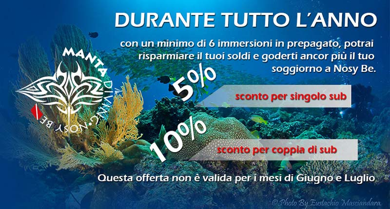 Manta Diving - Pre-booking