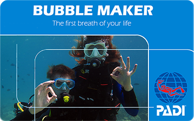 Manta Diving Nosy Be - Corsi - Bubble Maker