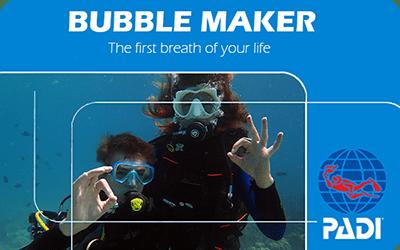 Manta Diving Nosy Be - Corsi - Bubble Maker