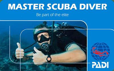 Manta Diving Nosy Be - Corsi - Master Scuba Diver