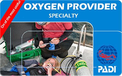 Manta Diving Nosy Be - Corsi - Oxygen Provider