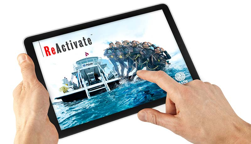 Manta Diving Nosy Be - Corsi - Padi e-learning - Reactivate