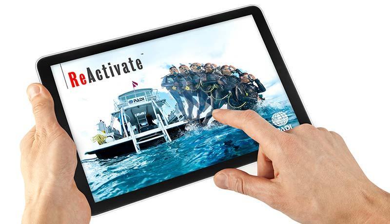 Manta Diving Nosy Be - Corsi - Padi e-learning - Reactivate