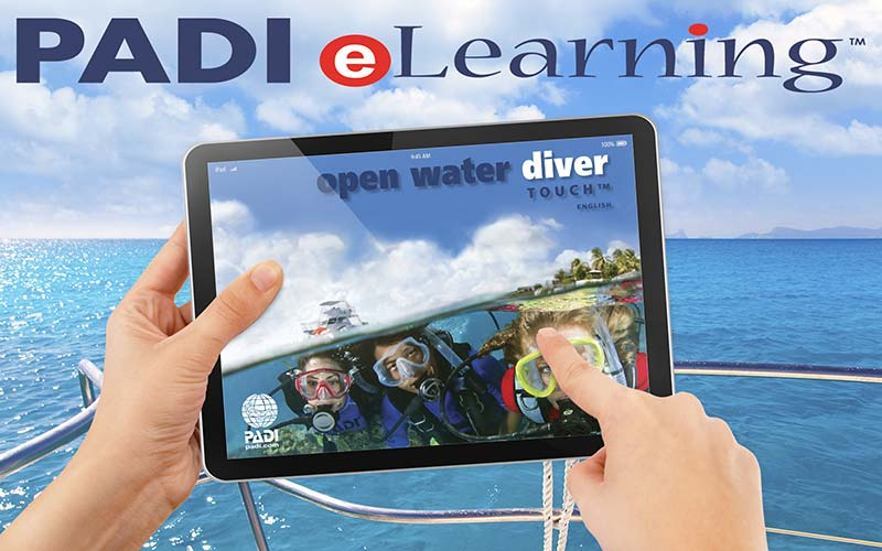 Manta Diving Nosy Be - Corsi - Padi e-learning