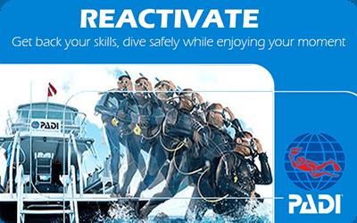 Manta Diving Nosy Be - Corsi - Reactivate