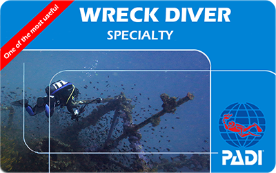 Manta Diving Nosy Be - Corsi - Wreck Diver