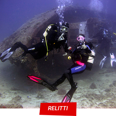 Manta Diving NosyBe - Relitti