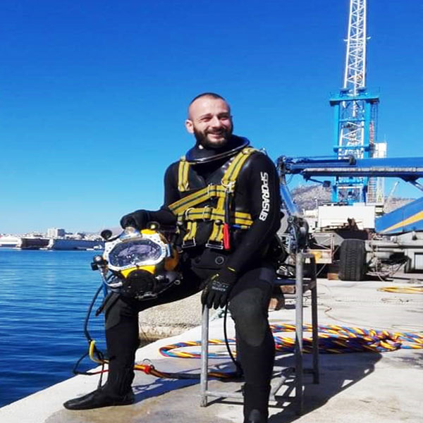 Manta Diving - Nosy Be - Istruttore - Alessandro